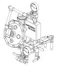 "Model J Flow Control Valve Vertical Conventional Trim, 2-1/2"" & 3"" (65 & 80 mm)"