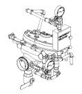 "Model J Straight Through Flow Control Valve Horizontal Conventional Trim Chart, 4"" (100 mm)"
