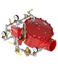 "Pilot Regulating Horizontal Trim for 8"" (DN200) Model J Flow Control Valve"