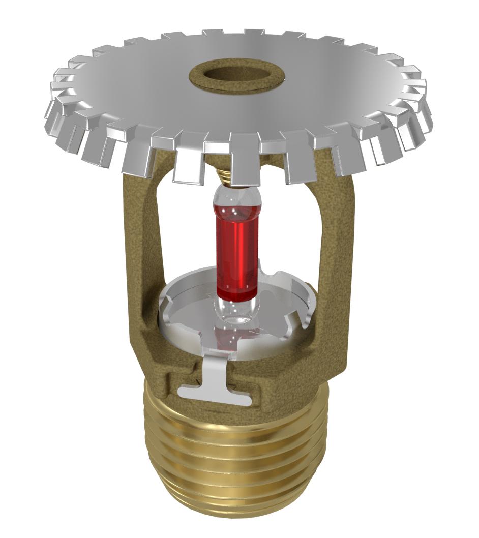 VK2002 - Standard Response Upright Sprinkler (K8.0)