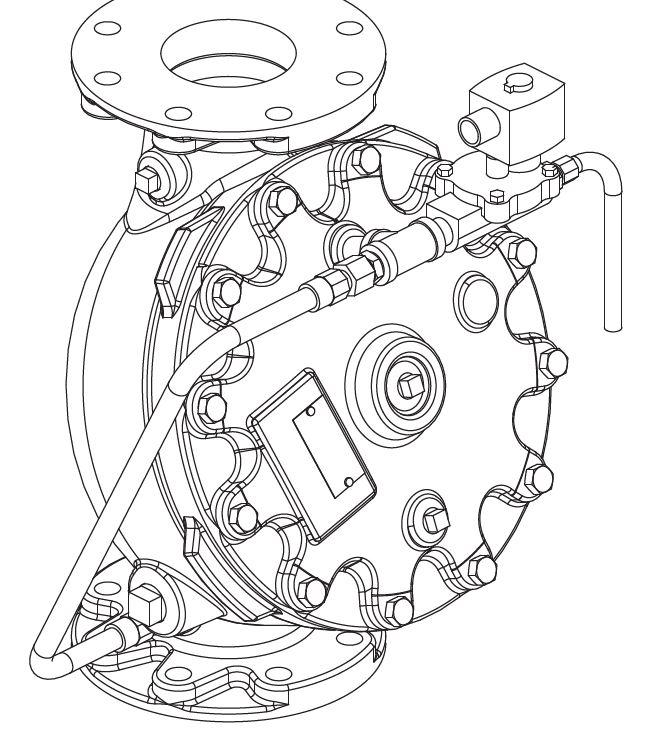 "3"" - 8"" (DN80 - DN200) Vertical Solenoid Operated Flow Control Valve"