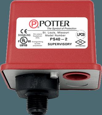 Pressure Supervisory Switch Potter Ps40 Viking Group Inc