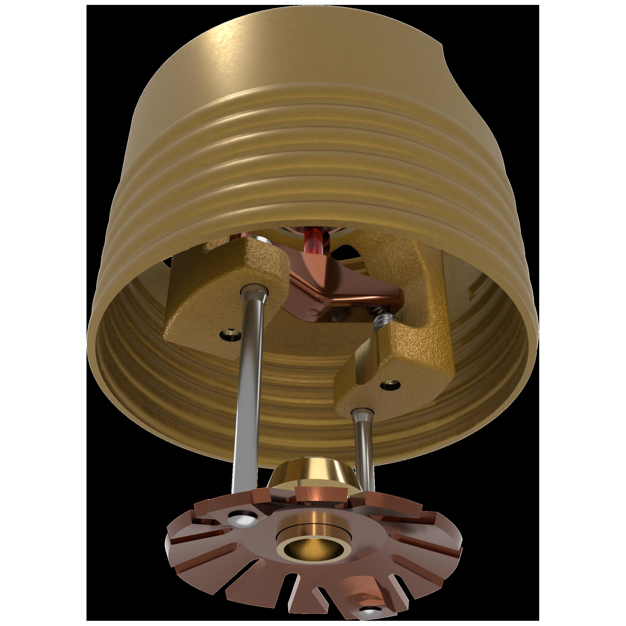 VK462, VK464 - Mirage® QR Concealed Pendent MRI Sprinklers (NON-FERROUS)