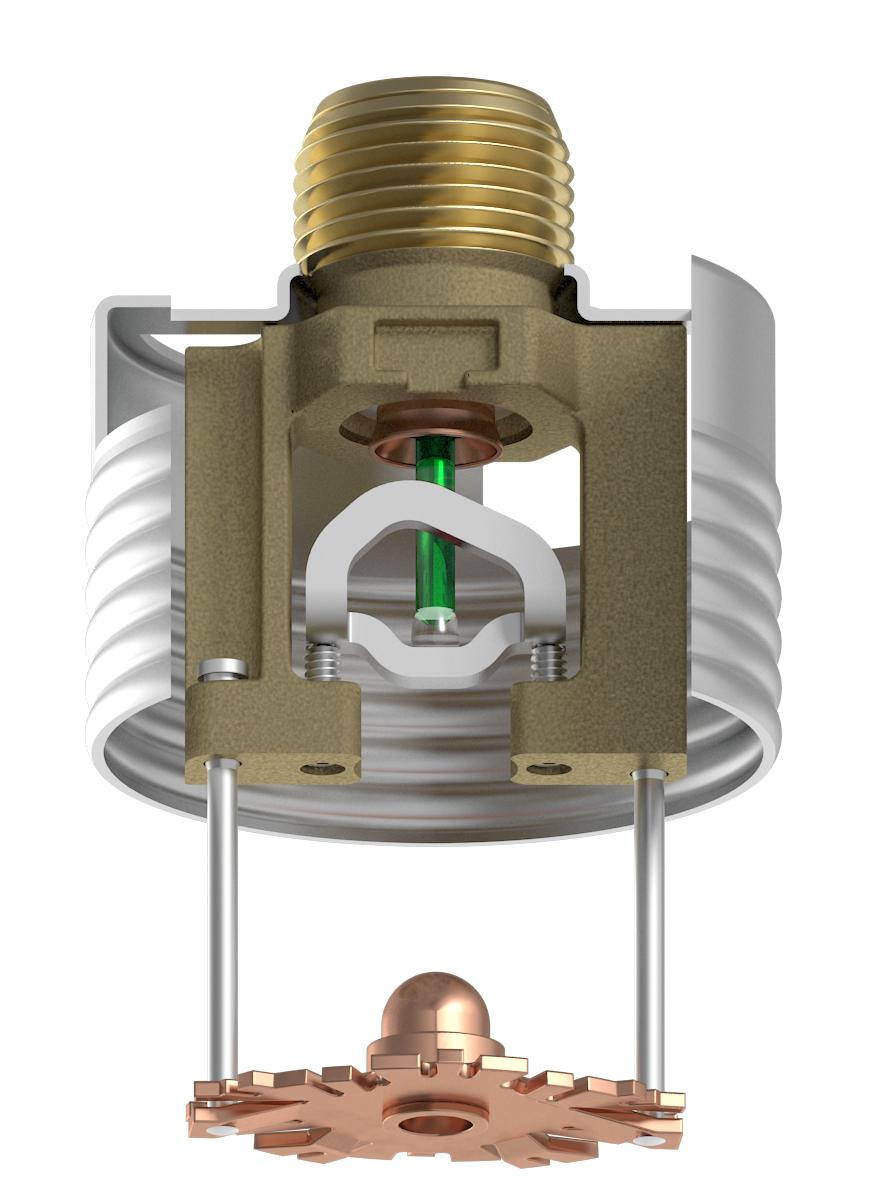 Vk494 residential concealed glass bulb pendent sprinkler k49 vk494 residential concealed glass bulb pendent sprinkler k49 mozeypictures Images